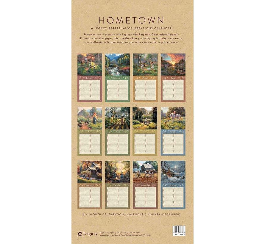 Hometown Birthday Calendar
