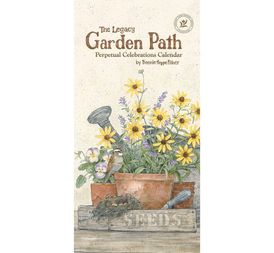 Garden Path Birthday Calendar