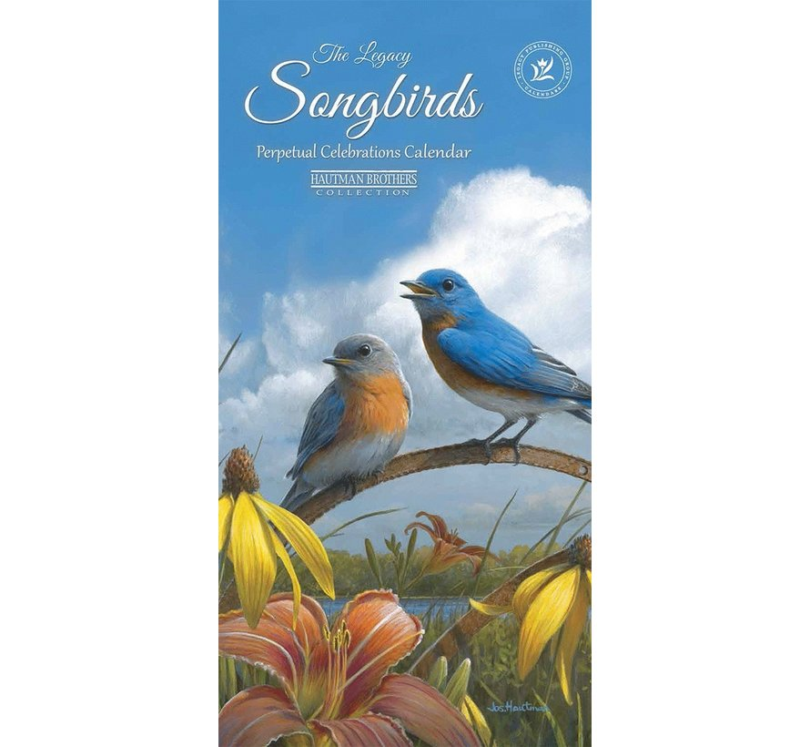 Songbirds Birthday Calendar