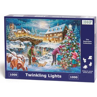 The House of Puzzles Twinkling Lights Puzzle 1000 pieces