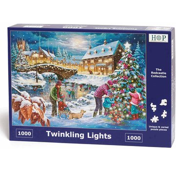 The House of Puzzles Twinkling Lights Puzzel 1000 stukjes