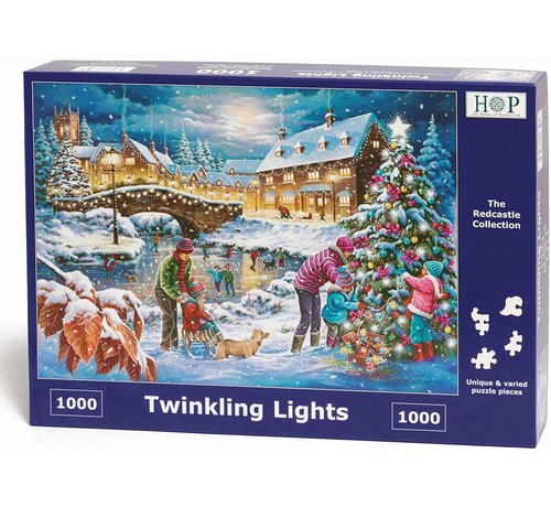 The House of Puzzles Twinkling Lights Puzzel 1000 stukjes