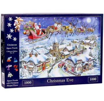 The House of Puzzles No.13 - Christmas Eve Puzzel 1000 stukjes