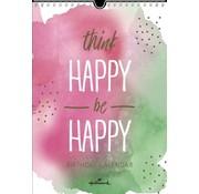 Hallmark Watercolour Birthday Calendar
