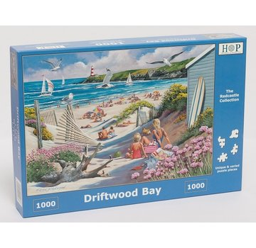 The House of Puzzles Driftwood Bay Puzzle 1000 Stück