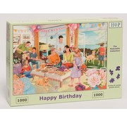 The House of Puzzles Happy Birthday Puzzel 1000 stukjes