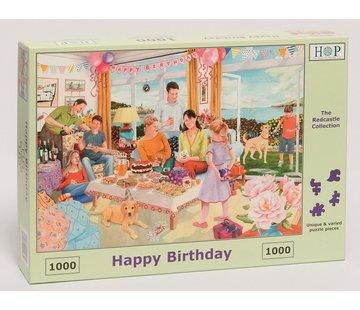 The House of Puzzles Joyeux anniversaire Puzzle 1000 pièces