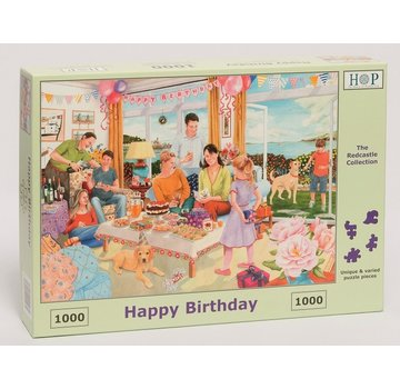 The House of Puzzles Alles Gute zum Geburtstag Puzzle 1000 Stück