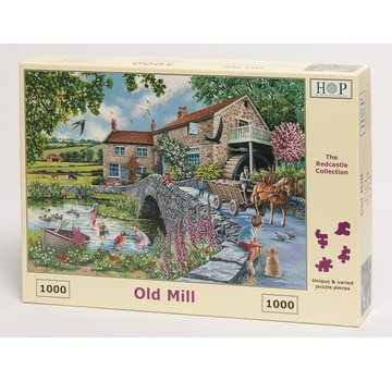 The House of Puzzles Old Mill Puzzel 1000 stukjes
