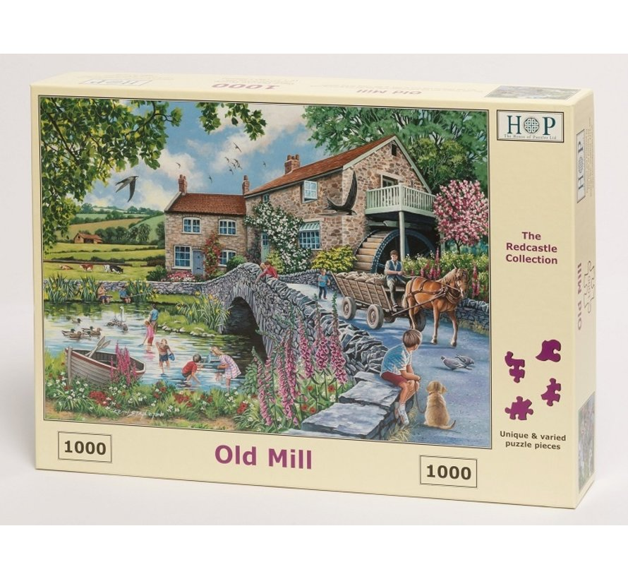 Old Mill Puzzle 1000 pieces