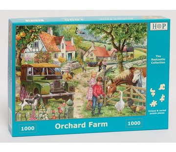 The House of Puzzles Orchard Farm Puzzel 1000 stukjes
