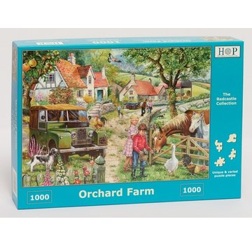 The House of Puzzles Orchard Farm Puzzle 1000 Stück