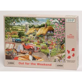 The House of Puzzles Out For The Weekend Puzzel 1000 stukjes