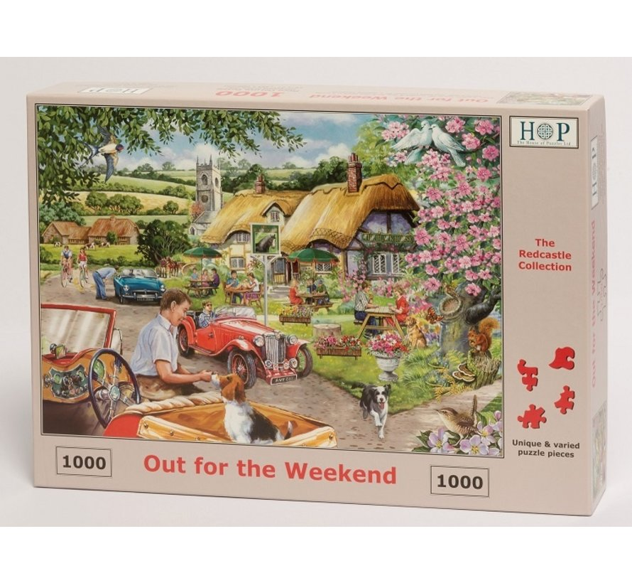 Out For The Weekend  Puzzle 1000 pieces