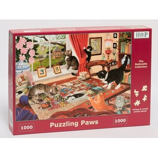 The House of Puzzles Puzzling Paws Puzzel 1000 stukjes