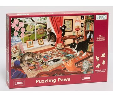 The House of Puzzles Puzzling Paws Puzzel 1000 stukjes