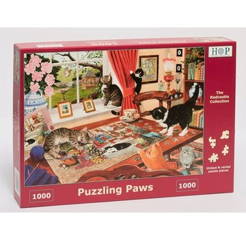 The House of Puzzles Puzzling Paws Puzzle 1000 Stück