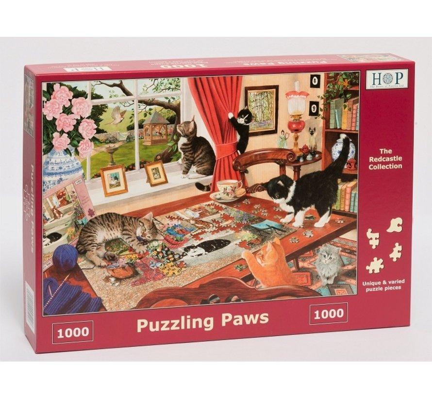 Puzzling Paws Puzzle 1000 pieces