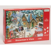 The House of Puzzles Snowman's View Puzzle 1000 pieces