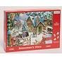 Snowman's View Puzzle 1000 pieces