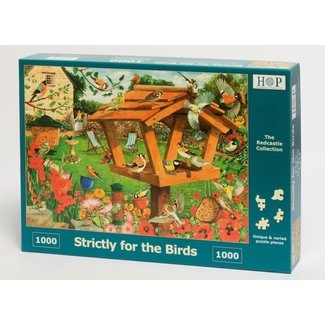 The House of Puzzles Strictly For The Birds Puzzle 1000 pieces