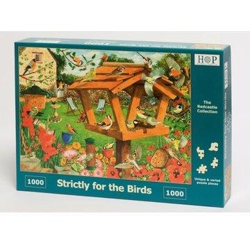 The House of Puzzles Genau für die Vögel Puzzle 1000 Stück