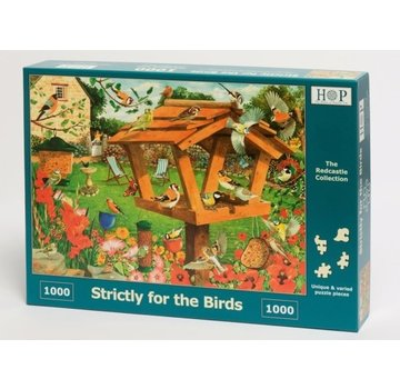 The House of Puzzles Strictly For The Birds Puzzel 1000 stukjes
