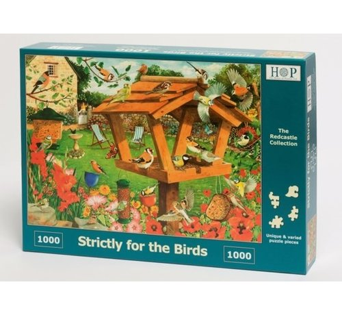 The House of Puzzles Strictly For The Birds  Puzzle 1000 pieces - Co
