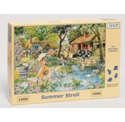 The House of Puzzles Summer Stroll Puzzel 1000 stukjes