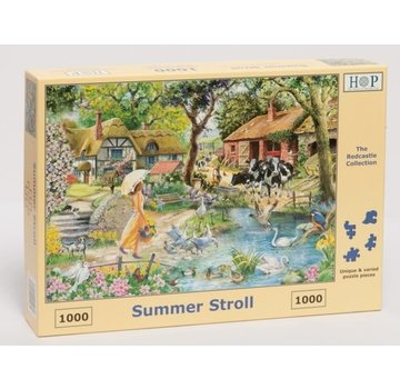The House of Puzzles Sommer Stroll Puzzle 1000 Stück