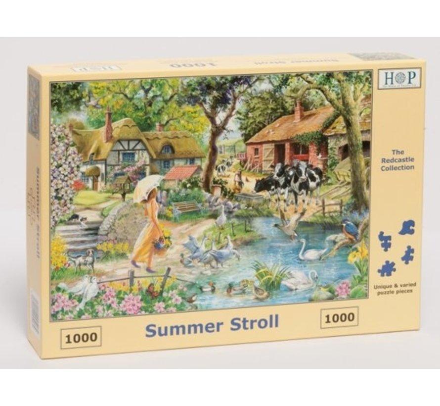 Summer Stroll Puzzel 1000 stukjes