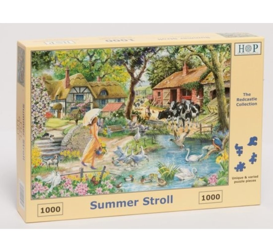 Summer Stroll Puzzle 1000 pieces