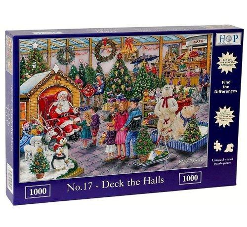 The House of Puzzles No.17 - Deck The Halls Puzzel 1000 Stukjes