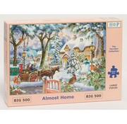 The House of Puzzles Almost Home Puzzel 500 XL stukjes