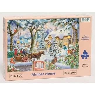 The House of Puzzles Almost Home Puzzle 500 pieces XL