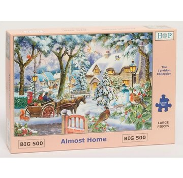 The House of Puzzles Puzzle Almost Home 500 Stück XL