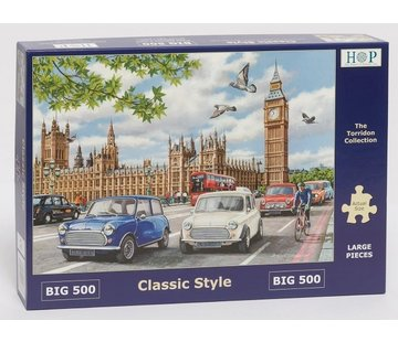 The House of Puzzles Classic Style  Puzzle 500 pieces XL