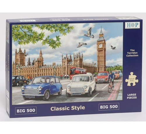 The House of Puzzles Classic Style Puzzel 500 XL stukjes