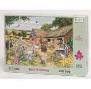 The House of Puzzles Just Kidding Puzzle 500 pieces XL