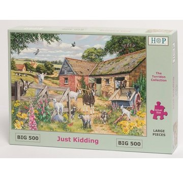 The House of Puzzles Just Kidding Puzzle 500 Stück XL