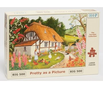 The House of Puzzles Pretty As A Picture Puzzle 500 pieces XL