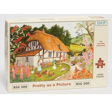 The House of Puzzles Bildhübsch Puzzleteile 500 XL