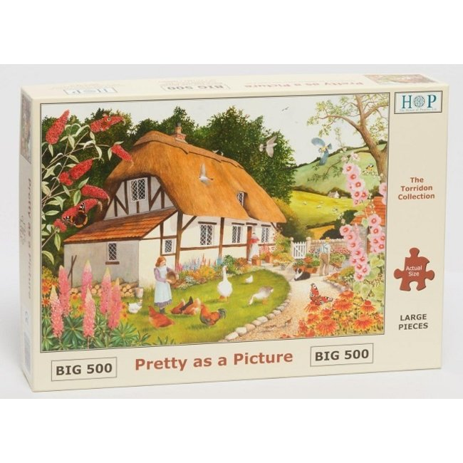 The House of Puzzles Pretty As A Picture Puzzel 500 XL stukjes