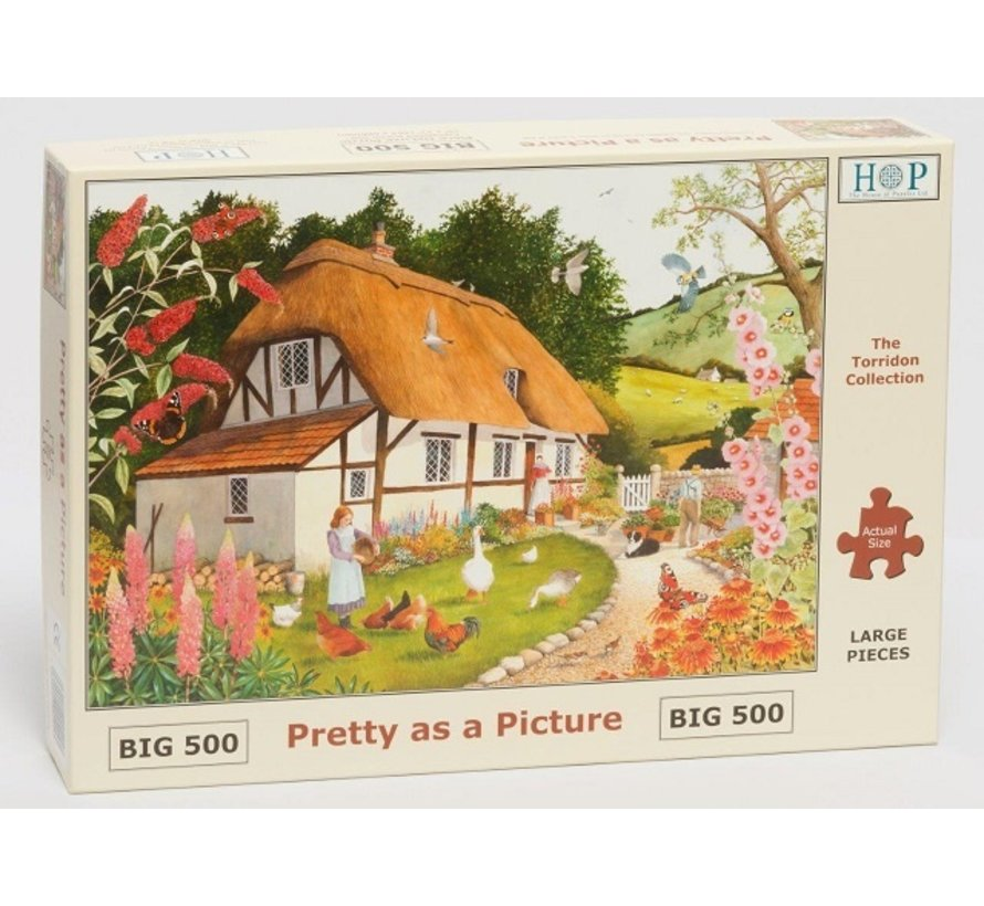 Pretty As A Picture Puzzle 500 pieces XL