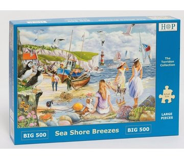 The House of Puzzles Sea Shore Breezes Puzzel 500 XL stukjes