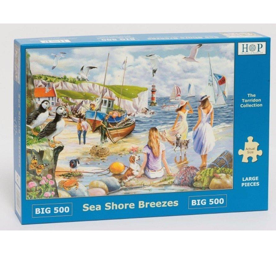 Sea Shore Breezes Puzzel 500 XL stukjes