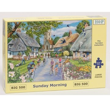 The House of Puzzles Dimanche matin Puzzle 500 pièces XL