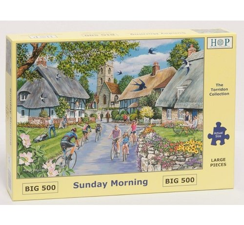 The House of Puzzles Almost Home Puzzle 500 pieces XL - Copy
