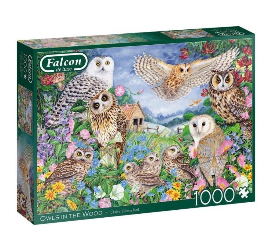 Owls In The Wood Puzzel 1000 Stukjes