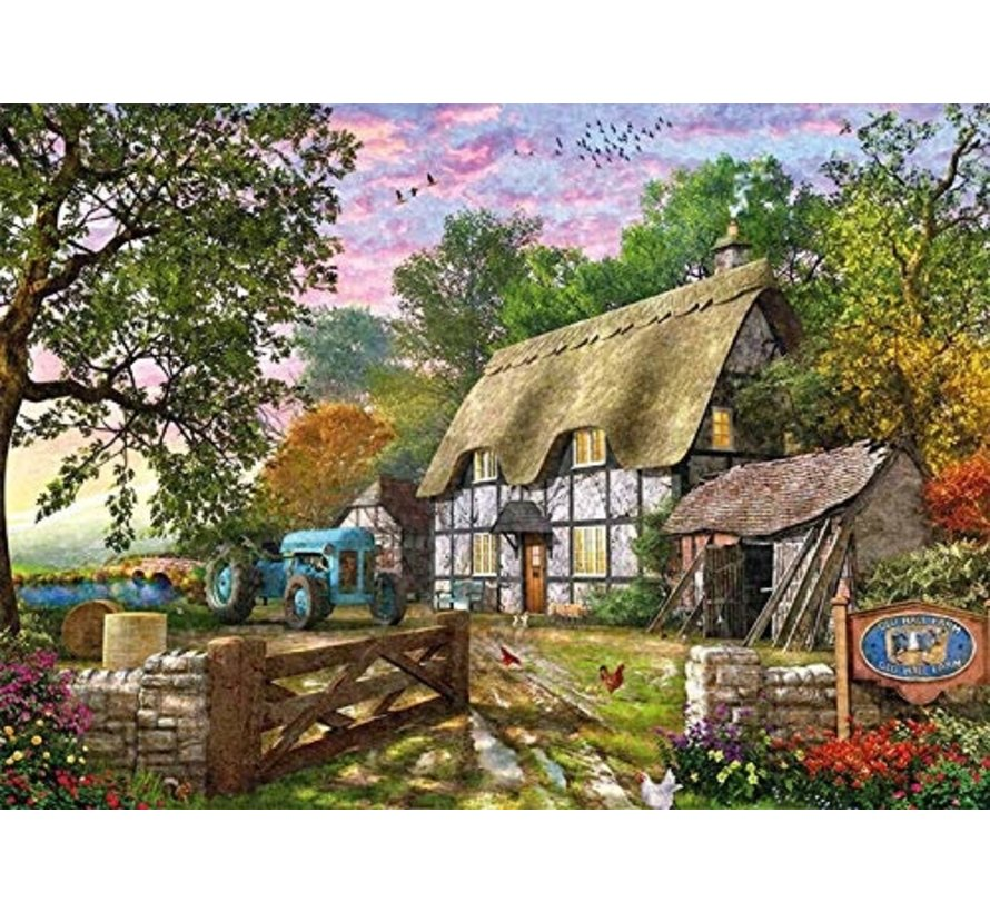 Farmers Cottage 1000 Piece Jigsaw Puzzle